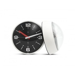 Ball Wall Clock marfil y negro en internet