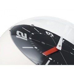 Ball Wall Clock marfil y negro - Kikely