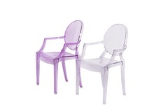 Sillon Louis Ghost Kids Violeta - Kikely