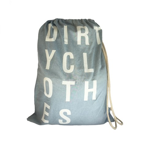 Bolso Dirty Clothes Celeste