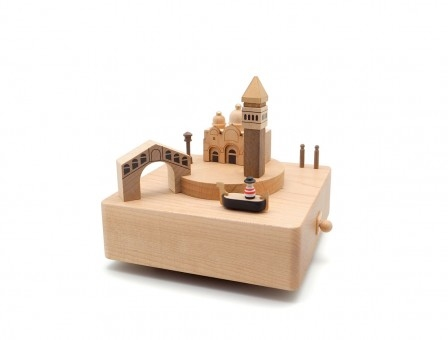 Cajita Musical Venecia Music Box