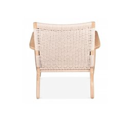 Poltrona CH 25 Lounge Chair Rattan - Kikely