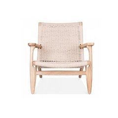 Poltrona CH 25 Lounge Chair Rattan en internet