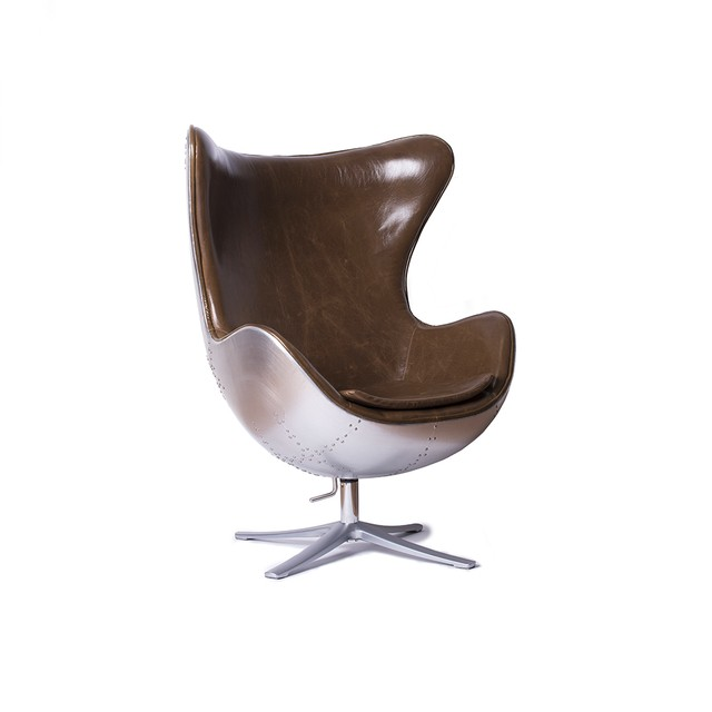Sillon Egg Aluminio Old