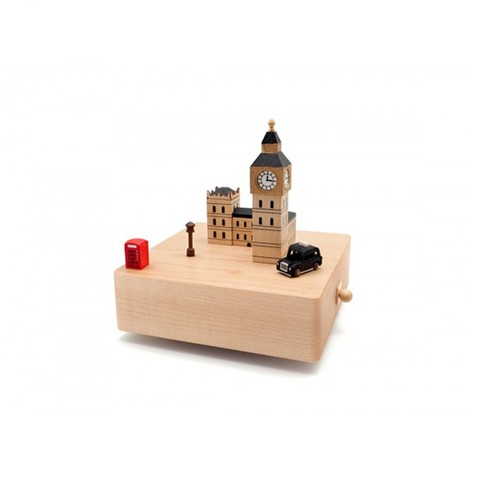Cajita Musical London Music Box