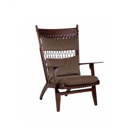 Web Lounge Chair Oscuro