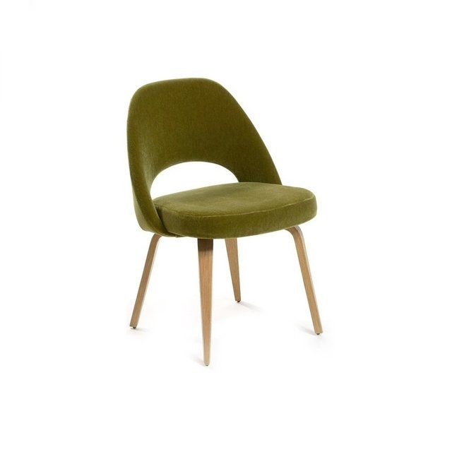 Silla Saarinen Executive Base Madera Personalizada