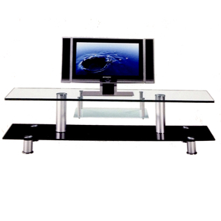 Rack tv vidrio 1,40x50