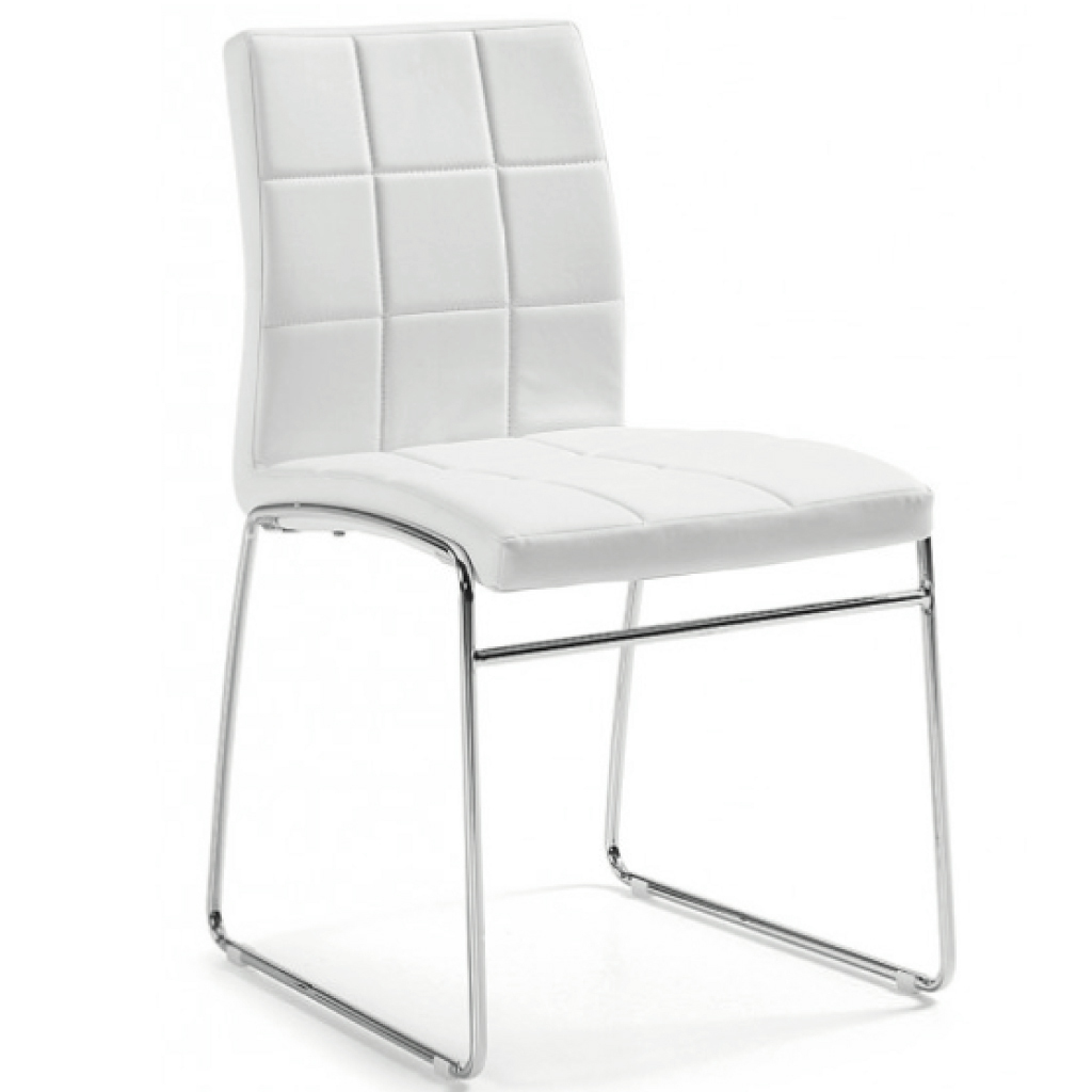 Silla Innova A Cuadros Blanco Gift Collection