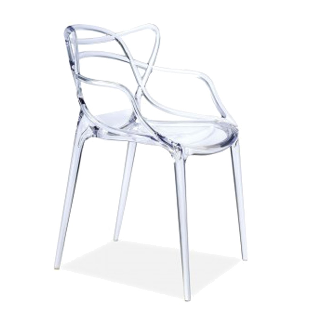 Silla master acr lico transparente gift collection for Silla transparente