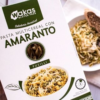 Pasta Multicereal con Amaranto x 250 grs. Wakas