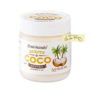 aceite de coco neutro 225 god bless you