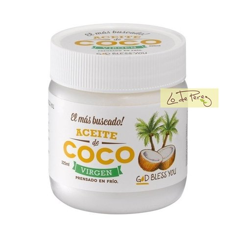 aceite de coco virgen 225 god bless you
