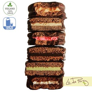 alfajor vegano green & veggie
