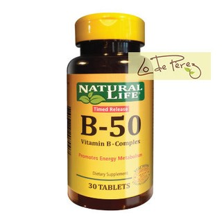 Complejo B 50 Vitaminas y minerales importado USA good and natural