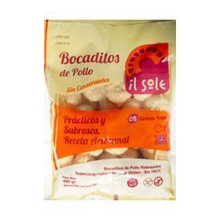 Bocaditos de Pollo x 400 gs Il Sole