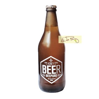 cerveza artesanal honey bee pure