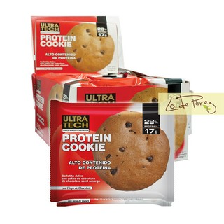 Cookie Galleta Dulce Proteica Ultratech Masa Muscular Deporte