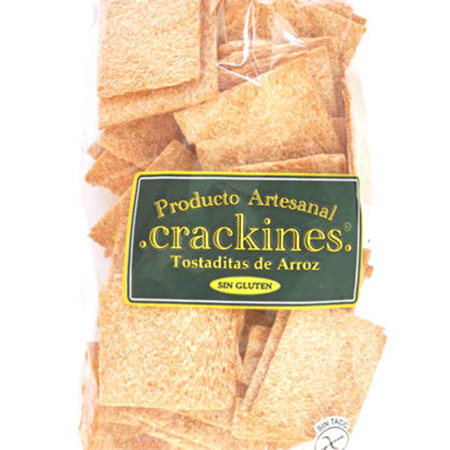 Tostaditas de Arroz x 120 gs Crackines