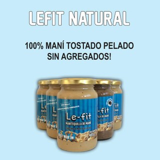 Mantequilla de maní natural