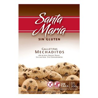 Galletitas Mechaditos x 200 gs Santa María