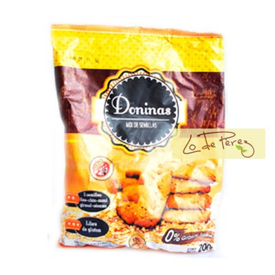 Galletitas Mix de semillas x 200 gs Doninas