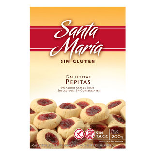 Galletitas Pepitas x 200 gs Santa María