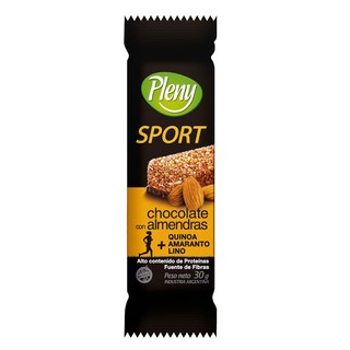 Barra de cereal sport chocolate