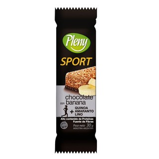 Barra cereal Pleny Sport banana