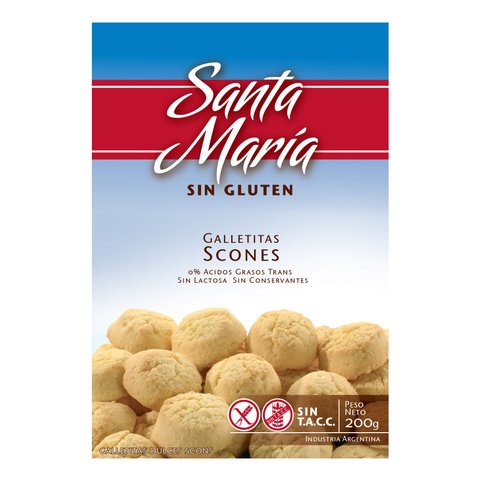 Galletitas Scons x 200 gs Santa María