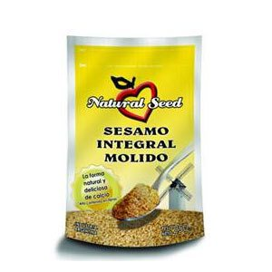 Sésamo Integral Molido x 250 gs Natural Seed