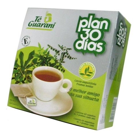 Té Guaraní Plan 30 días x 60 saquitos