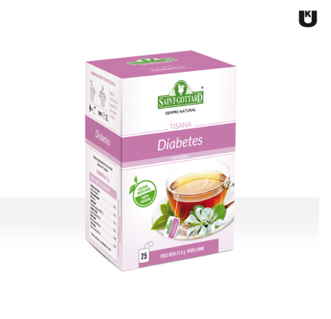 Tisana Diabetes x 25 saquitos Saint Gottard