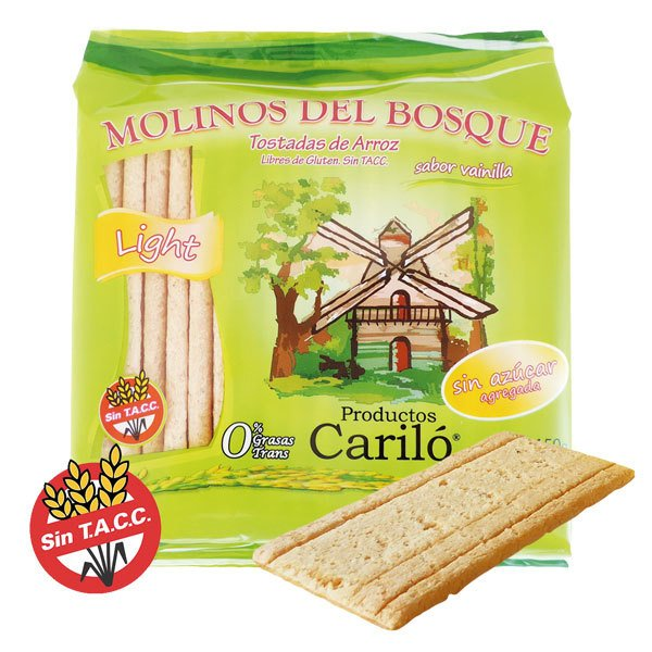 MOLINO DEL BOSQUE TOSTADAS DULCES