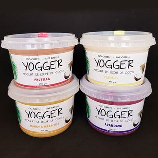 Yogurt vegano x 200 gs Yogger