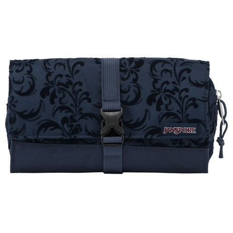 Neceser JANSPORT Matrix Pouch Navy Splendid Vine Flock