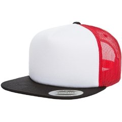 Gorra FLEXFIT Foam trucker with white front