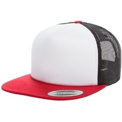 Gorra FLEXFIT Foam trucker with white front - tienda online