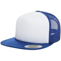 Gorra FLEXFIT Foam trucker with white front - comprar online