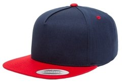 Gorra FLEXFIT 5 panel cotton twill snapback 2-tones - SPY LIMITED