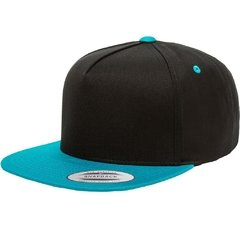 Gorra FLEXFIT 5 panel cotton twill snapback 2-tones
