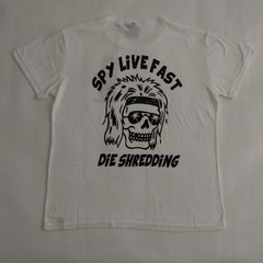 Remera SPY LIMITED Skull Fast Snow - SPY LIMITED