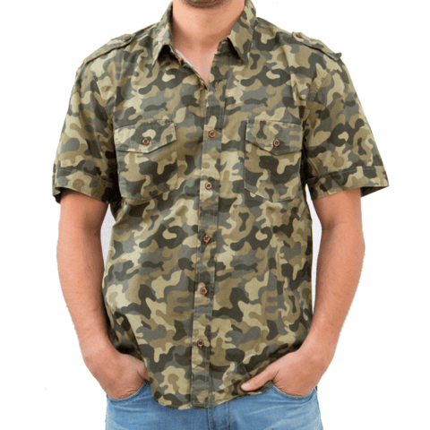 Camisa SPY LIMITED Warrior desert