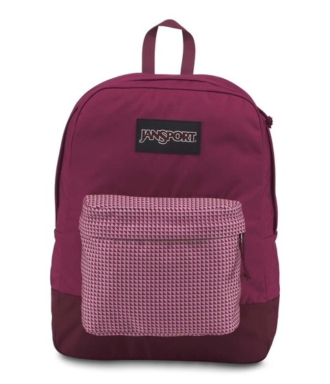 Mochila JANSPORT Black Label Superbreak Red Combo
