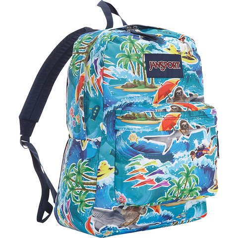 Mochila JANSPORT Superbreak Multi Wet Sloth