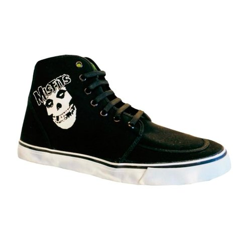 Zapatillas ANARCHY Misfits Lona Negra