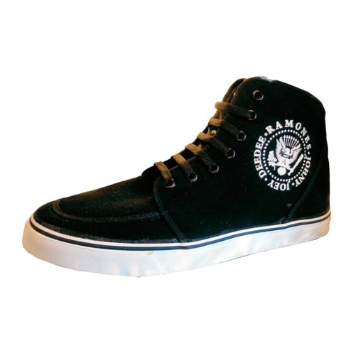 Zapatillas ANARCHY Ramones Lona Negra