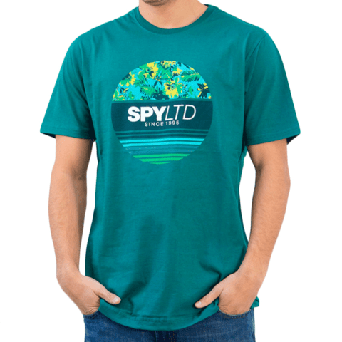 Remera SPY LIMITED Winds Flores