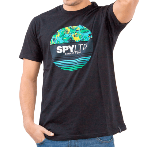 Remera SPY LIMITED Winds Flores en internet