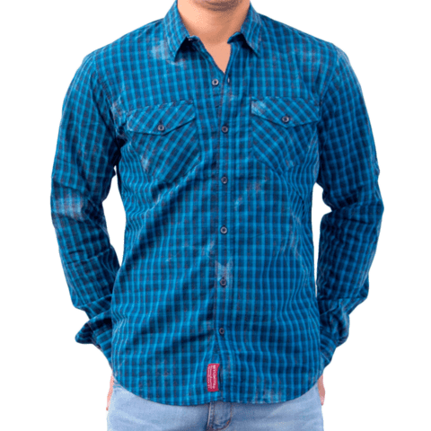 Camisa SPY LIMITED Ringo M/L - SPY LIMITED